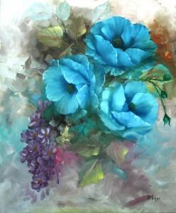 Blaue Schönheit